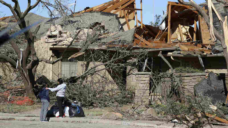 A Tornado Struck Sunday Night. Now Dallas Is Assessing The Damage