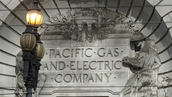 PG&E says it may impose a blackout on 16 California counties on Wednesday because weather conditions could favor wildfires.