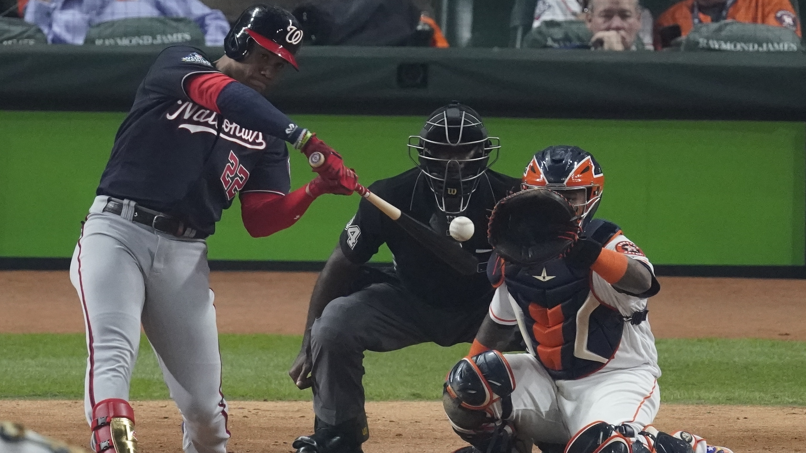 Nationals Beat Astros 5-4 In Game 1 Of World Series