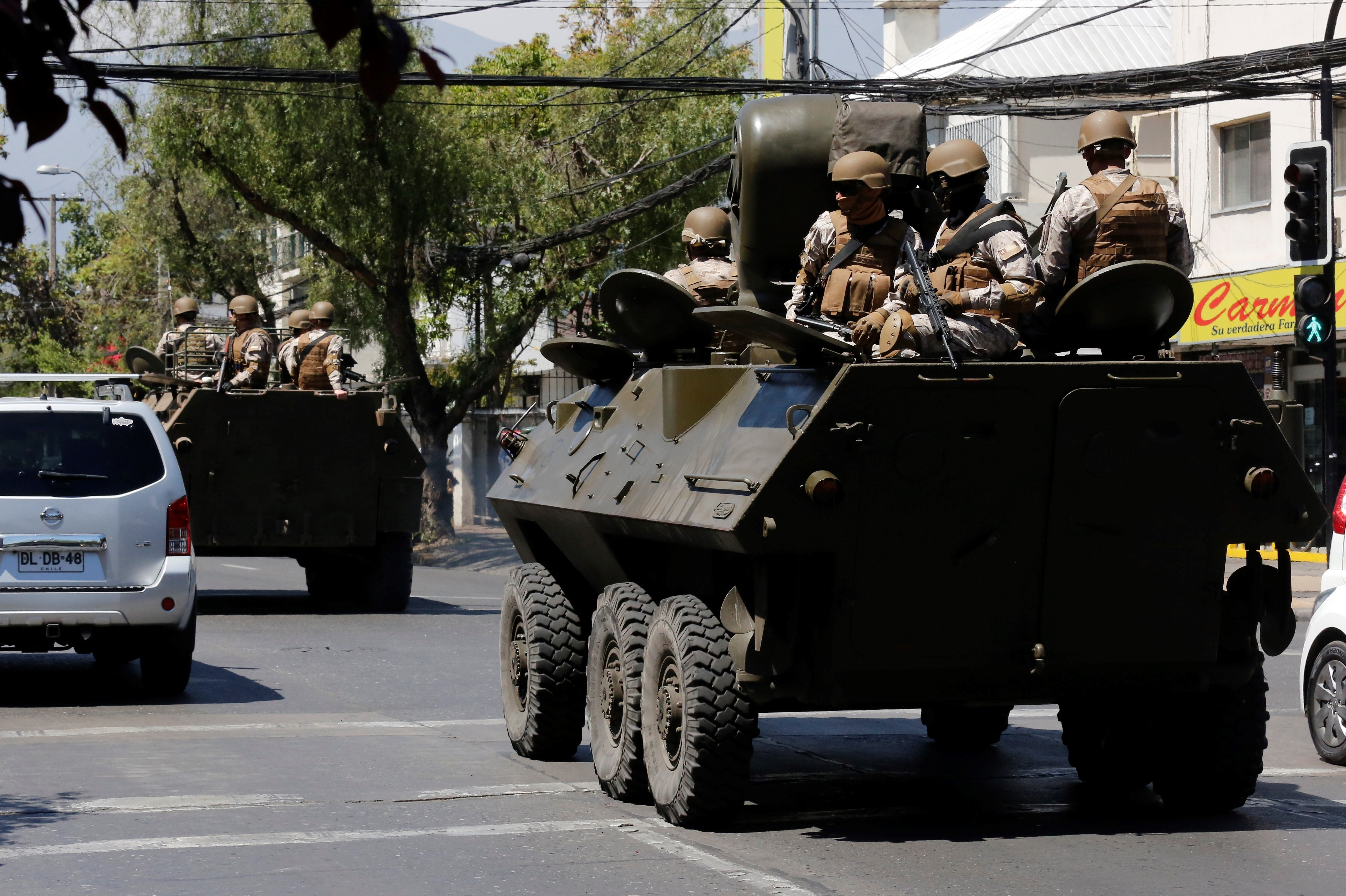 In Chile, Protesters Continue To Defy The President And Military