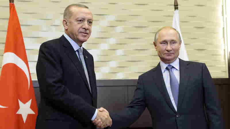 Turkey, Russia Reach Deal To Control Syrian Areas Once Patrolled By The U.S.