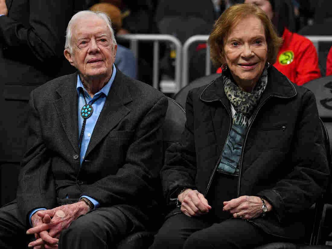 Former President Jimmy Carter hospitalized for fractured pelvis after fall