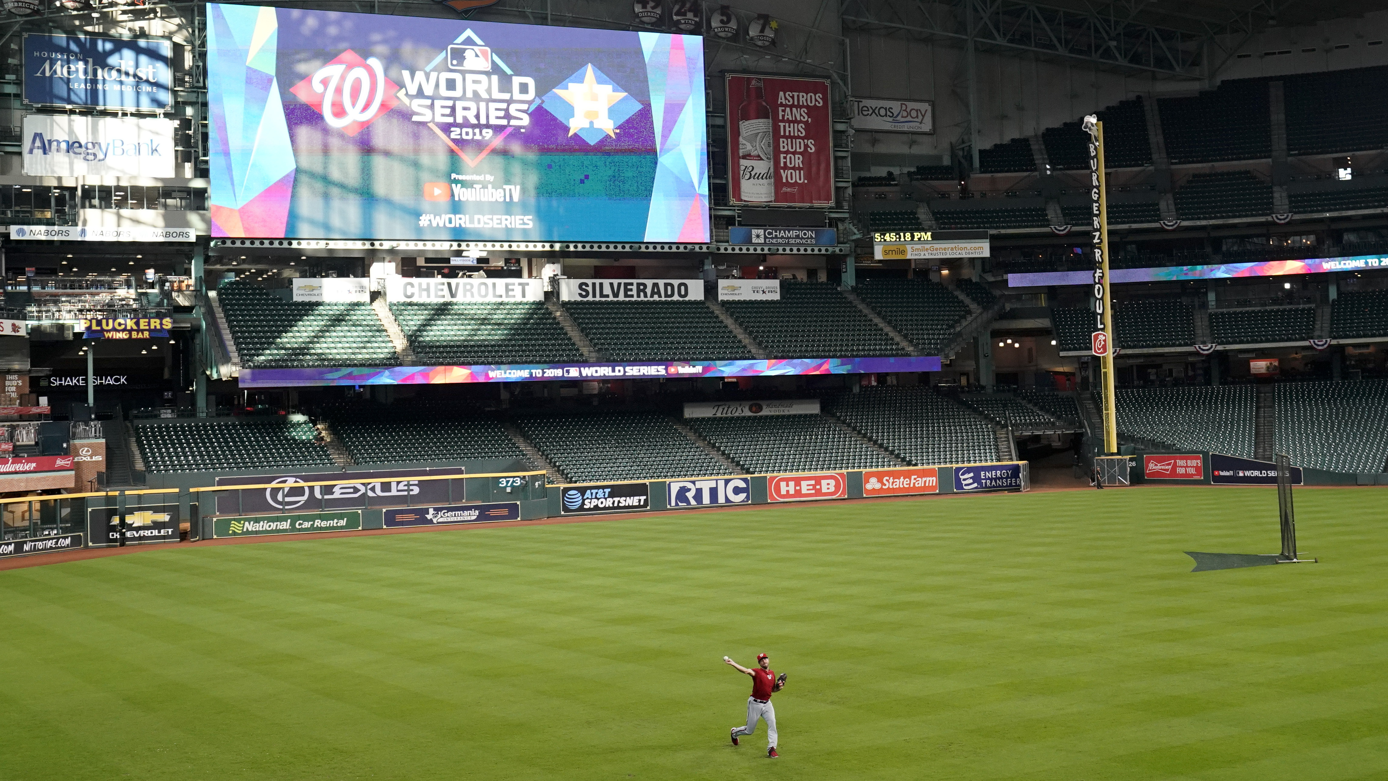 Astros And Nationals Primed To Start 2019 World Series In Houston