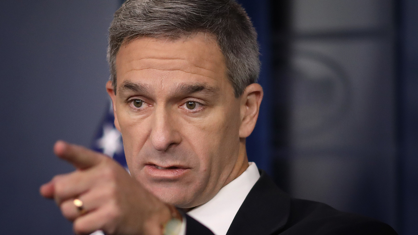Exclusive: Trump Wants To Pick Cuccinelli For DHS, But Worries Senate Would Balk