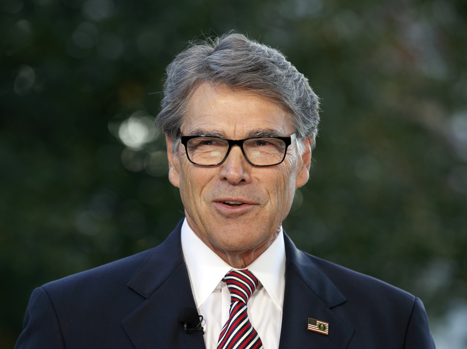 Energy Secretary Rick Perry announced last week that he will leave his position by the end of the year. Perry urged President Trump to make the July phone call to Ukrainian President Volodymyr Zelenskiy that's at the heart of the impeachment inquiry. (Jacquelyn Martin/AP)