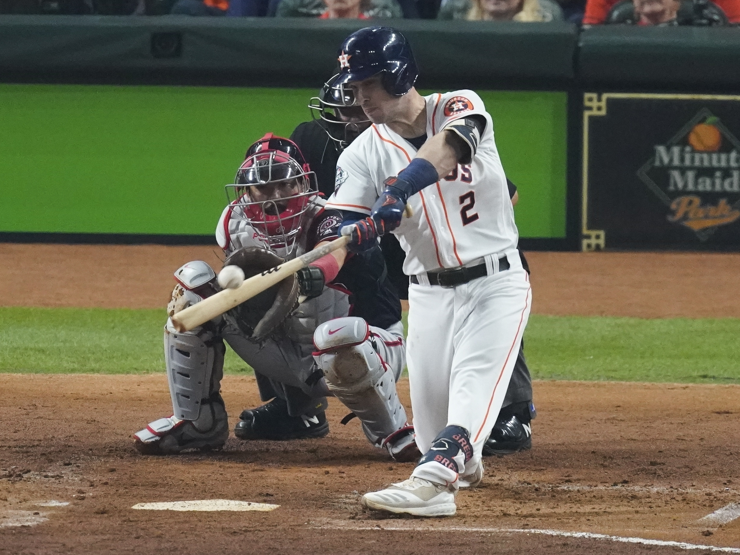 Nationals And Astros Tied 2-2 In Game 2 Of The 2019 World Series