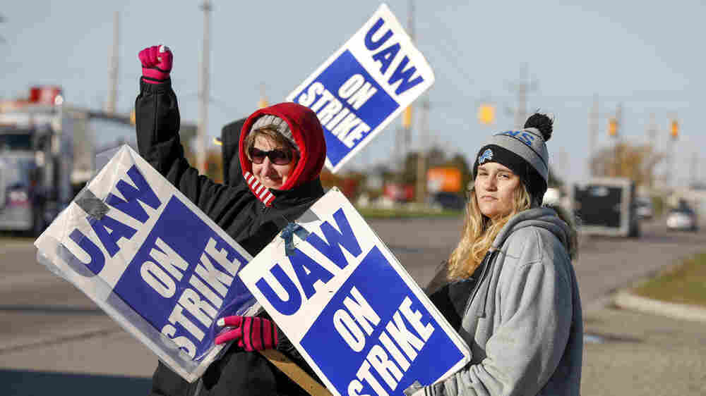 'It's Time To Get Something Back': Union Workers' Voices Are Getting Louder