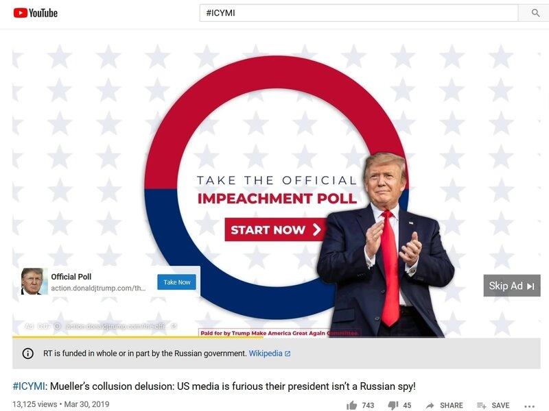 Trump Ads On Russian Propaganda Sites Its Not Collusion
