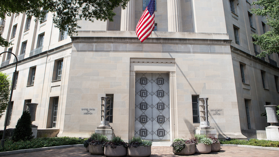 A judge has ruled that the Justice Department must turn over grand jury material as part of the House impeachment inquiry. (Liam James Doyle/NPR)