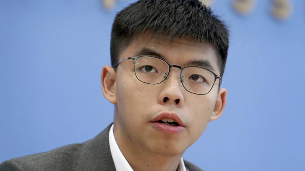Joshua Wong Disqualified From Running In Hong Kong Council Elections