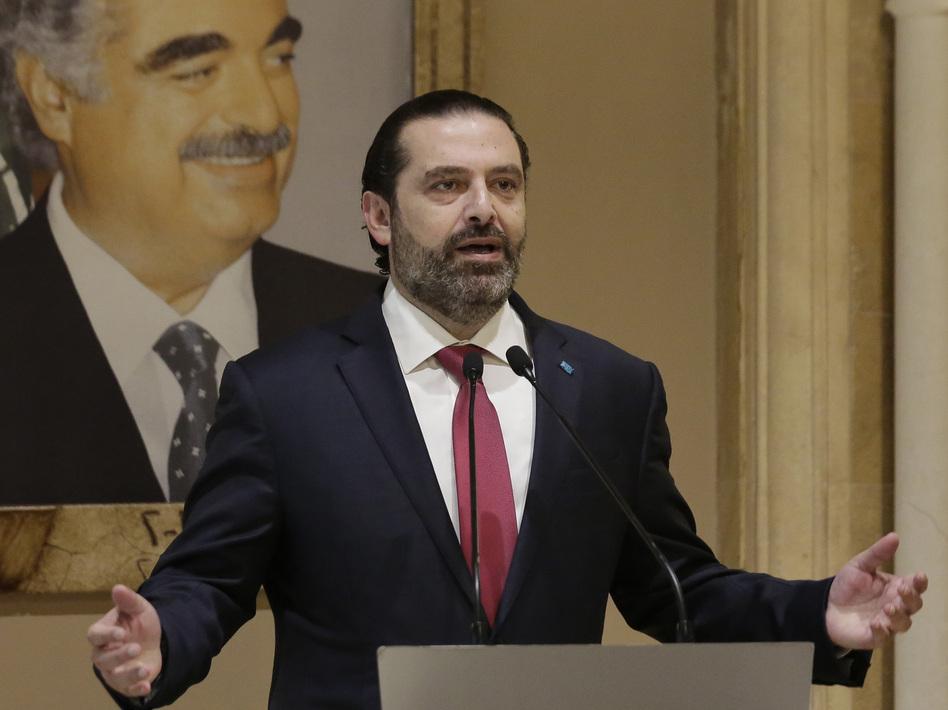 Lebanon S Prime Minister Hariri Resigns After Weeks Of Protests Wbur News