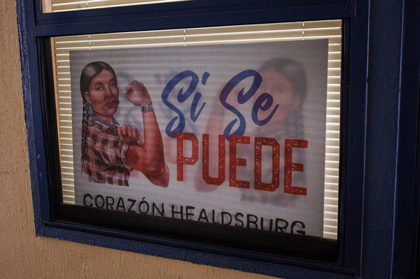 """Corazón Healdsburg, a nonprofit that works with the local Latino community, is helping families affected by the Kincade Fire. """"They're sudden,"""" Leticia Romero, director of community engagement says of wildfires and their trauma. """"You go to bed, and you wake up to this natural disaster."""""""