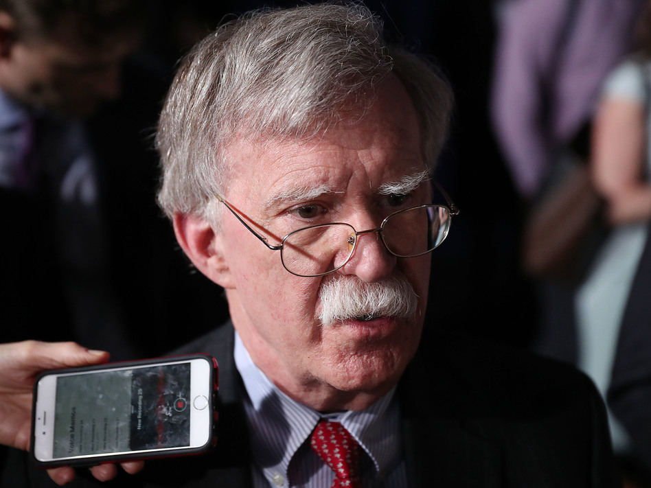 Lawmakers from the House Intelligence, Foreign Affairs and Oversight committees are eager to hear from President Trump's third national security adviser, John Bolton. (Joe Raedle/Getty Images)