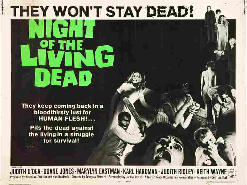 Night Of The Living Dead reinvigorated the zombie genre when it was released in 1968.
