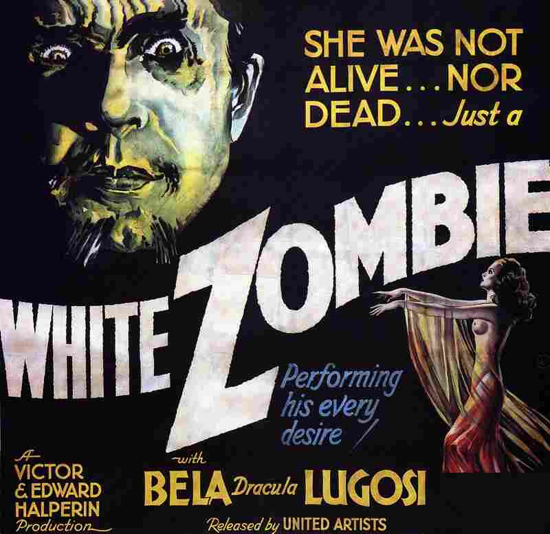 Released in 1932, White Zombie was the first film in the zombie genre.
