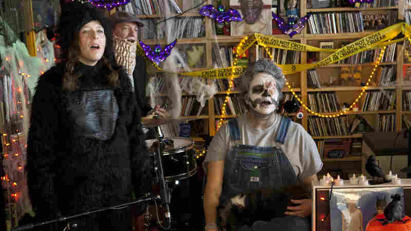 Tiny Desk Trick Or Treat: Our 5 Favorite Concerts In Costume