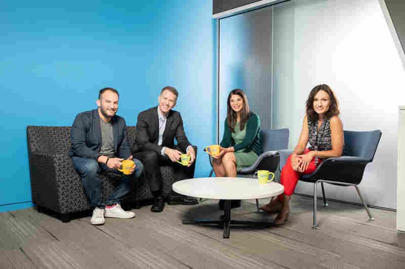 NPR's Morning Edition Team, David Greene, Steve Inskeep, Noel King, Rachel Martin.