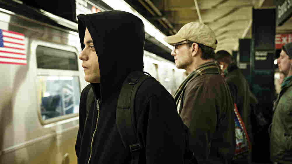 'Mr. Robot' Creator Says His Own Anxiety And Hacking Helped Inspire The Show