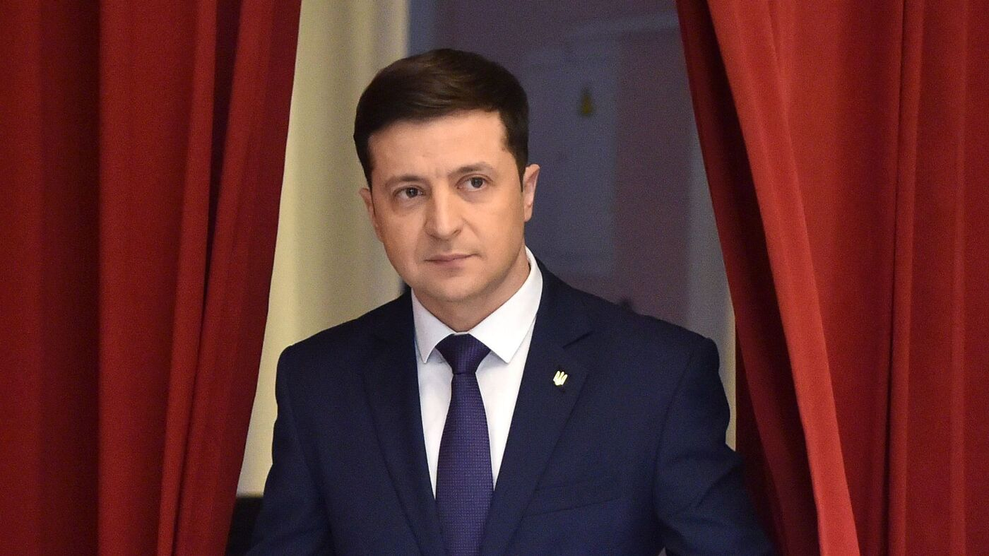 How Ukraine's President Wound Up In The Middle Of The Trump Impeachment Inquiry