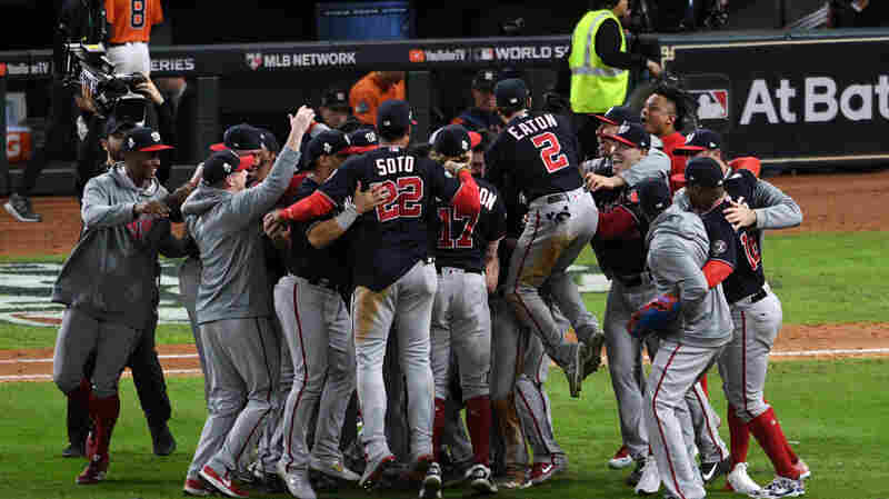 Nationals Beat Astros 6-2 To Win The 2019 World Series