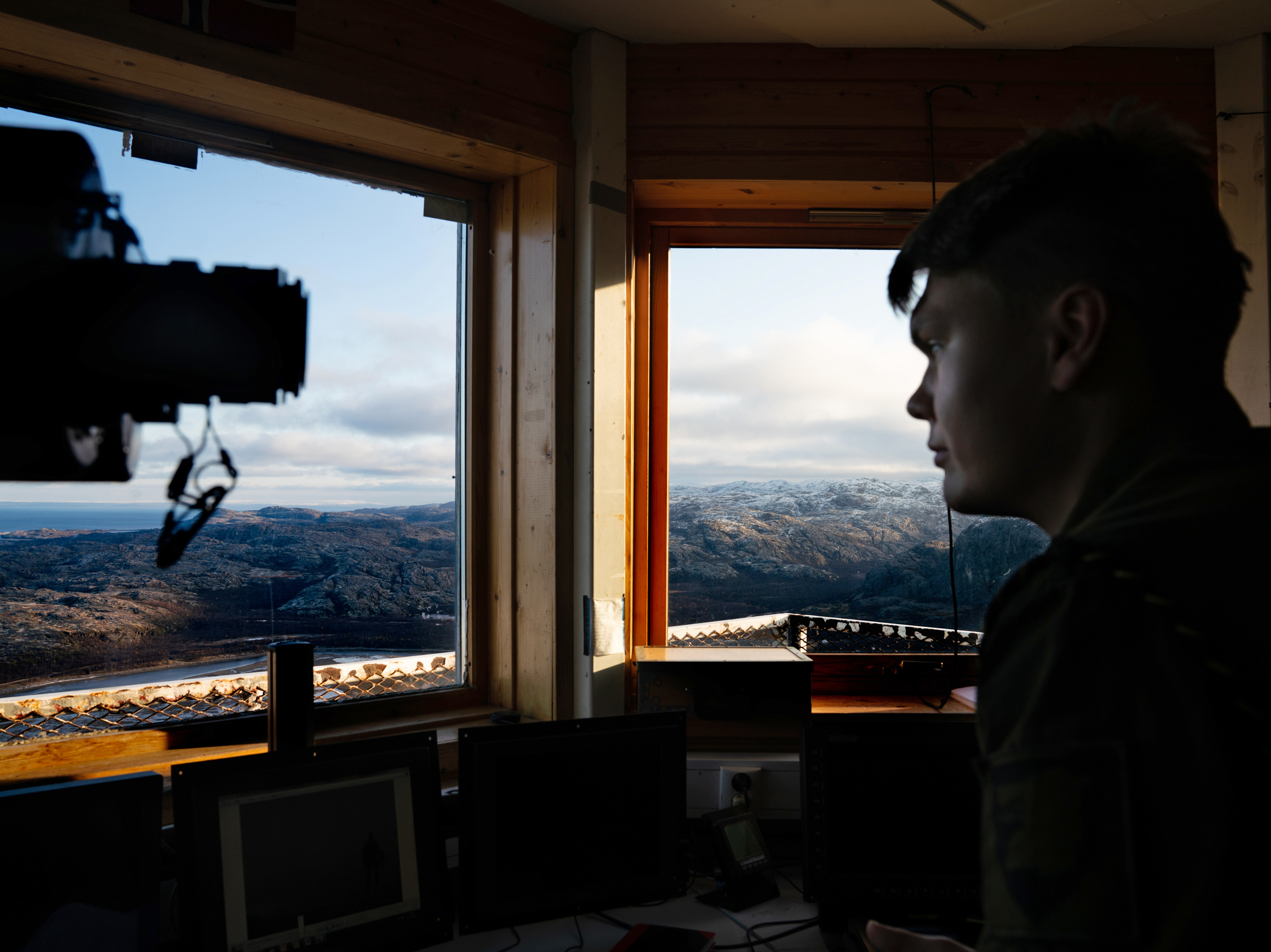In A Remote Arctic Outpost, Norway Keeps Watch On Russia's