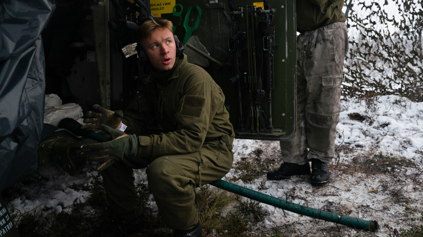 In A Remote Arctic Outpost, Norway Keeps Watch On Russia's Military Buildup