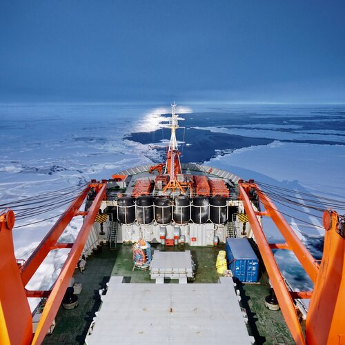 Searching For Solid Ice As Scientists 'Freeze In' To Study A Warming Arctic