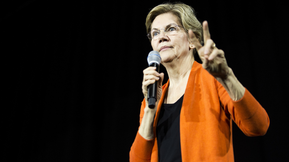 Democratic presidential candidate Sen. Elizabeth Warren, D-Mass., has released her plan to fund single-payer health care, keeping with a pledge not to raise taxes on the middle class. (Zach Gibson/Getty Images)