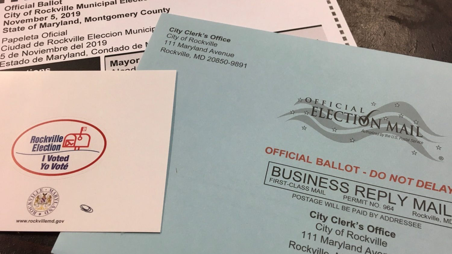 Rockville Becomes Testing Ground For Vote-By-Mail In Maryland Elections