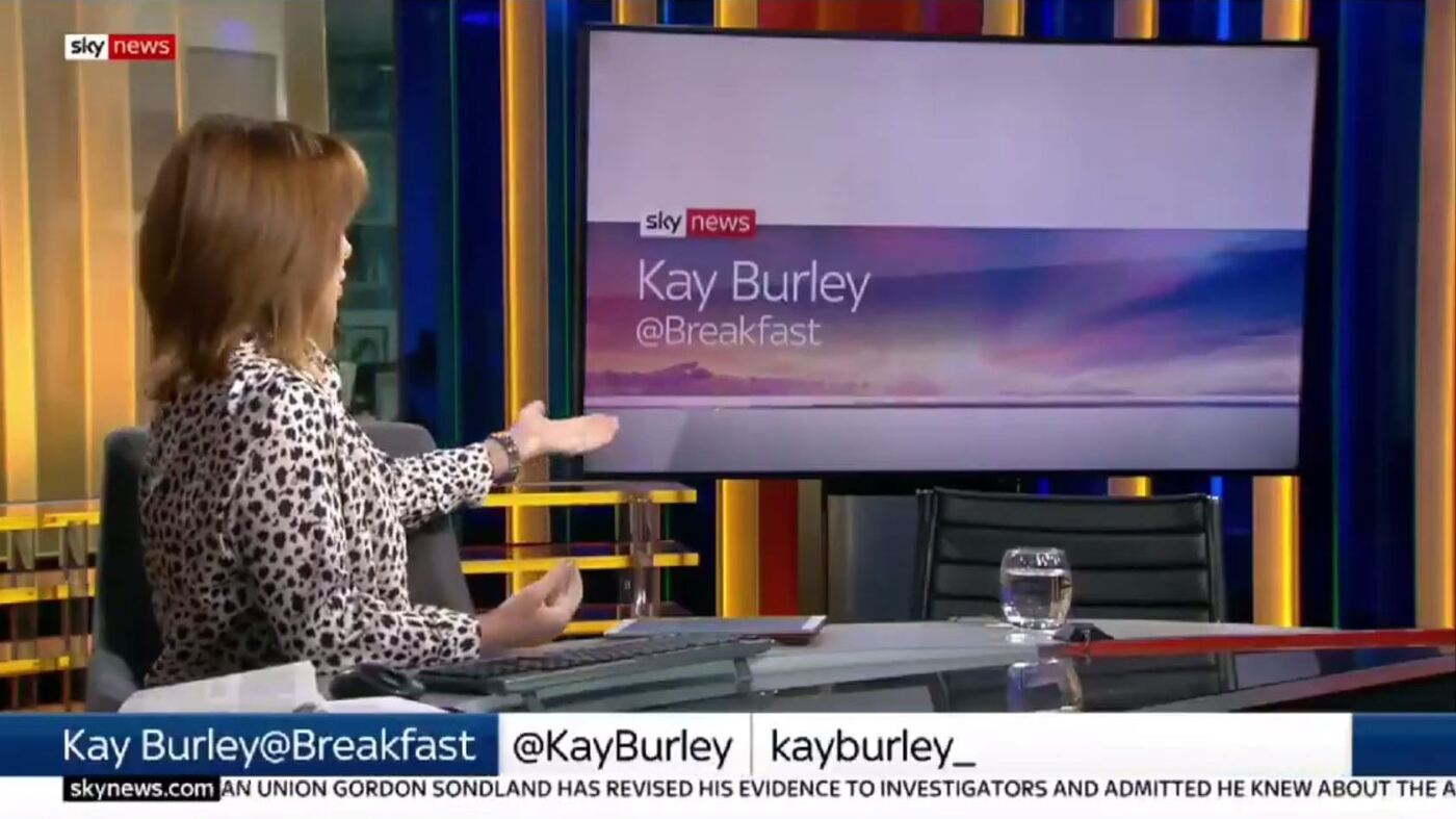 After No-Show By U.K. Conservative Leader, TV Host Eviscerates Empty Chair