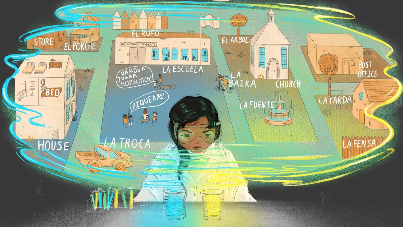 These Students Speak Perfect Spanglish — And Now They're Learning To Own It : NPR
