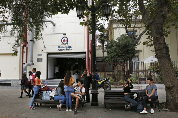 Andrés Bello National University is a private university in Santigao that does not participate in the gratuidad program.