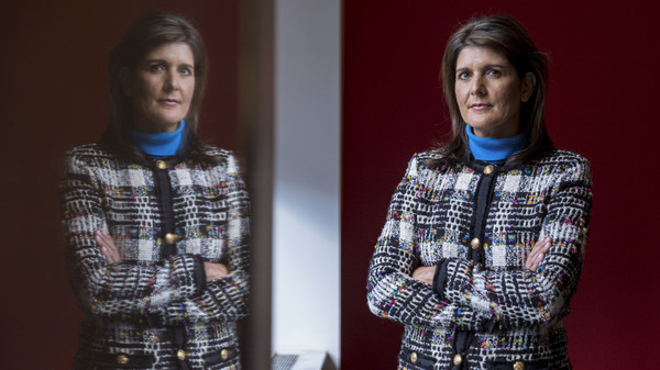 "In an interview with NPR about her new book, former Ambassador to the U.N. Nikki Haley said she made an effort to avoid the ""toxic"" and ""trashy"" White House — and that she"