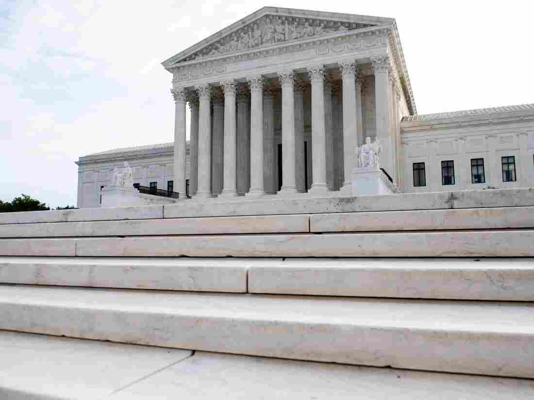 The US Supreme Court is seen on the first day of a new term in Washington, DC, October 7, 2019.