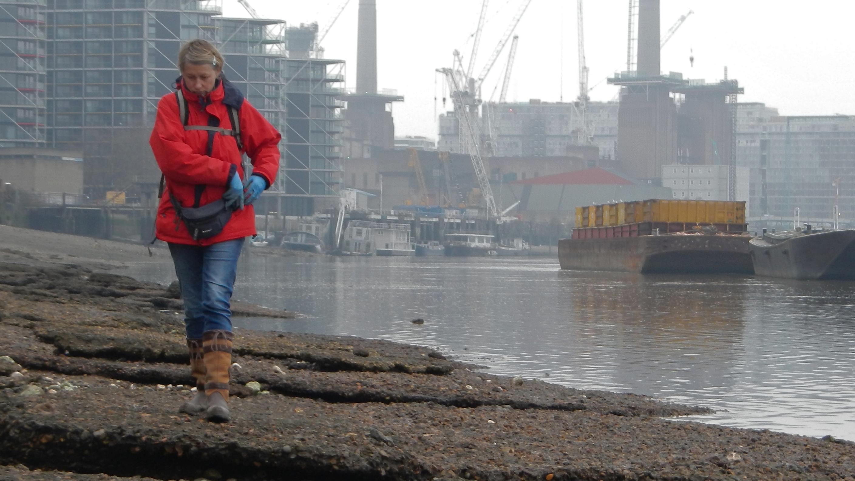 London's 'Mudlark' Pulls Treasure From The Thames