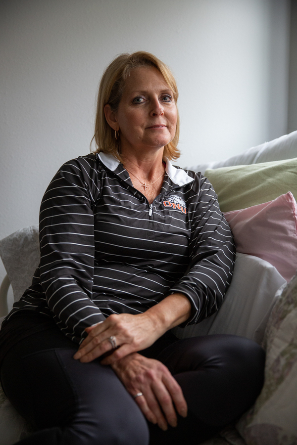 """Bobb was born with a malformation in her pelvis that led to pain. Over the span of two decades, she underwent more than a dozen major surgeries, yet none offered relief. """"When you get to that point, you can't see beyond the pain,"""" Bobb says. """"You're just surviving."""""""