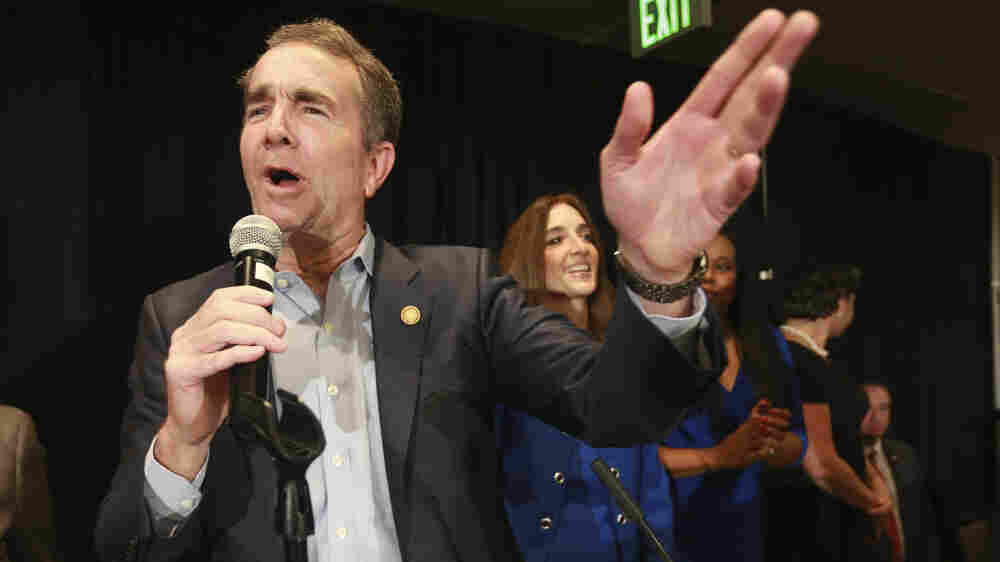 As Democrats Prepare To Take Power In Virginia, Gov. Northam Focuses On Gun Control
