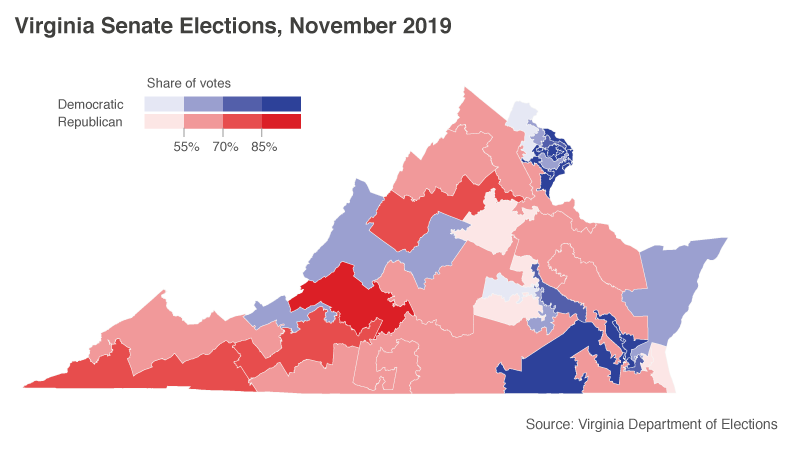 A Push For Gun Control Helped Dems Win Virginia Advocates Want The Same In 2020 Npr