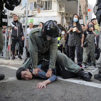 With Escalating Violence In Hong Kong, U.S. Urges Both Sides To 'Exercise Restraint'