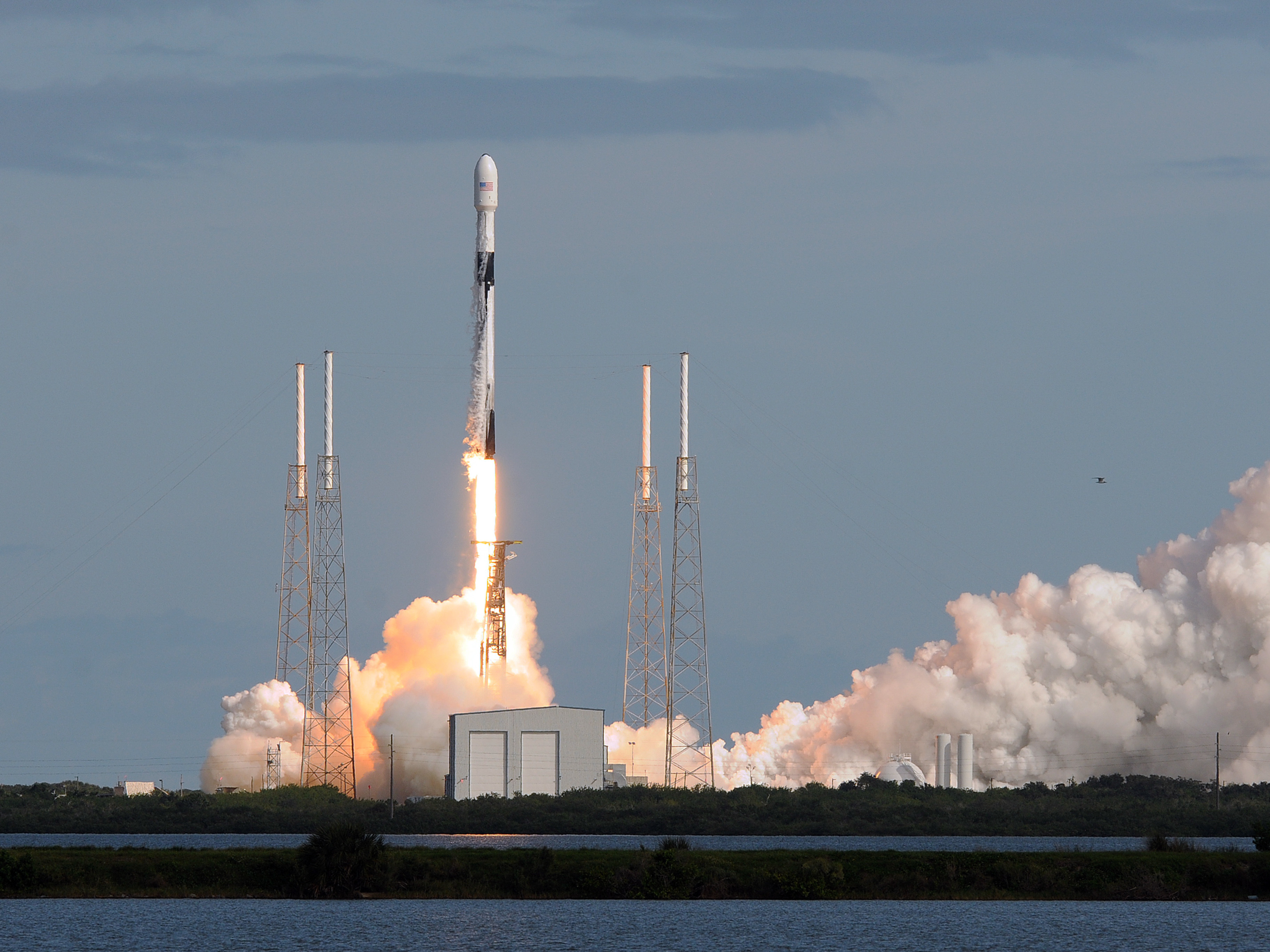 As SpaceX Launches Dozens Of Satellites At A Time, Some Fear An Orbital Traffic Jam