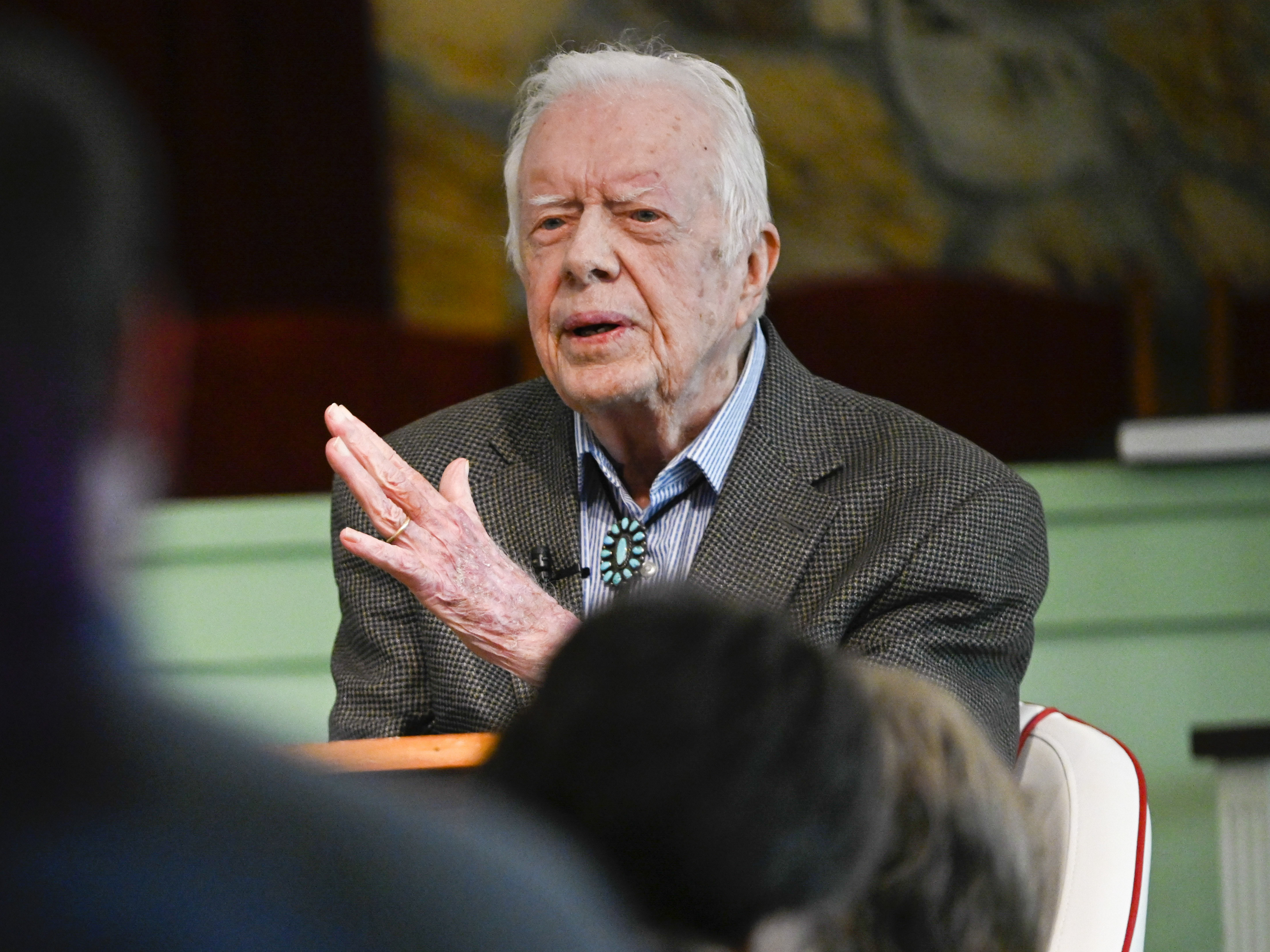 Jimmy Carter Surgery: 'No Complications' In Bid To Relieve Pressure On His Brain
