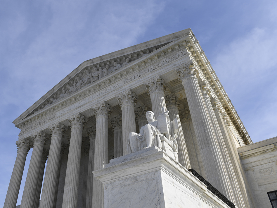 The Supreme Court heard arguments Tuesday on the DACA program. (Susan Walsh/AP)