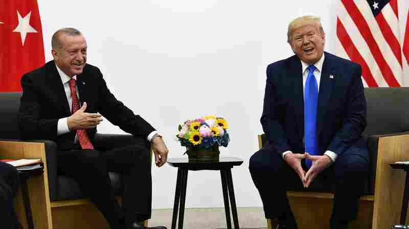 President Trump Hosts Turkey's Erdogan Despite Concerns In Congress