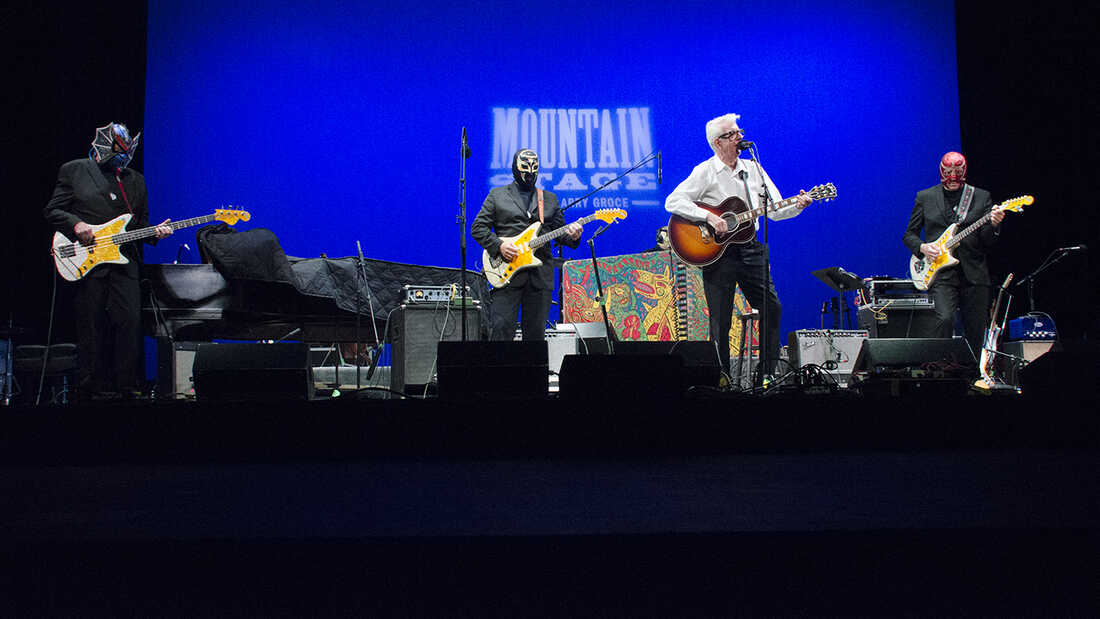 Nick Lowe And Los Straitjackets On Mountain Stage