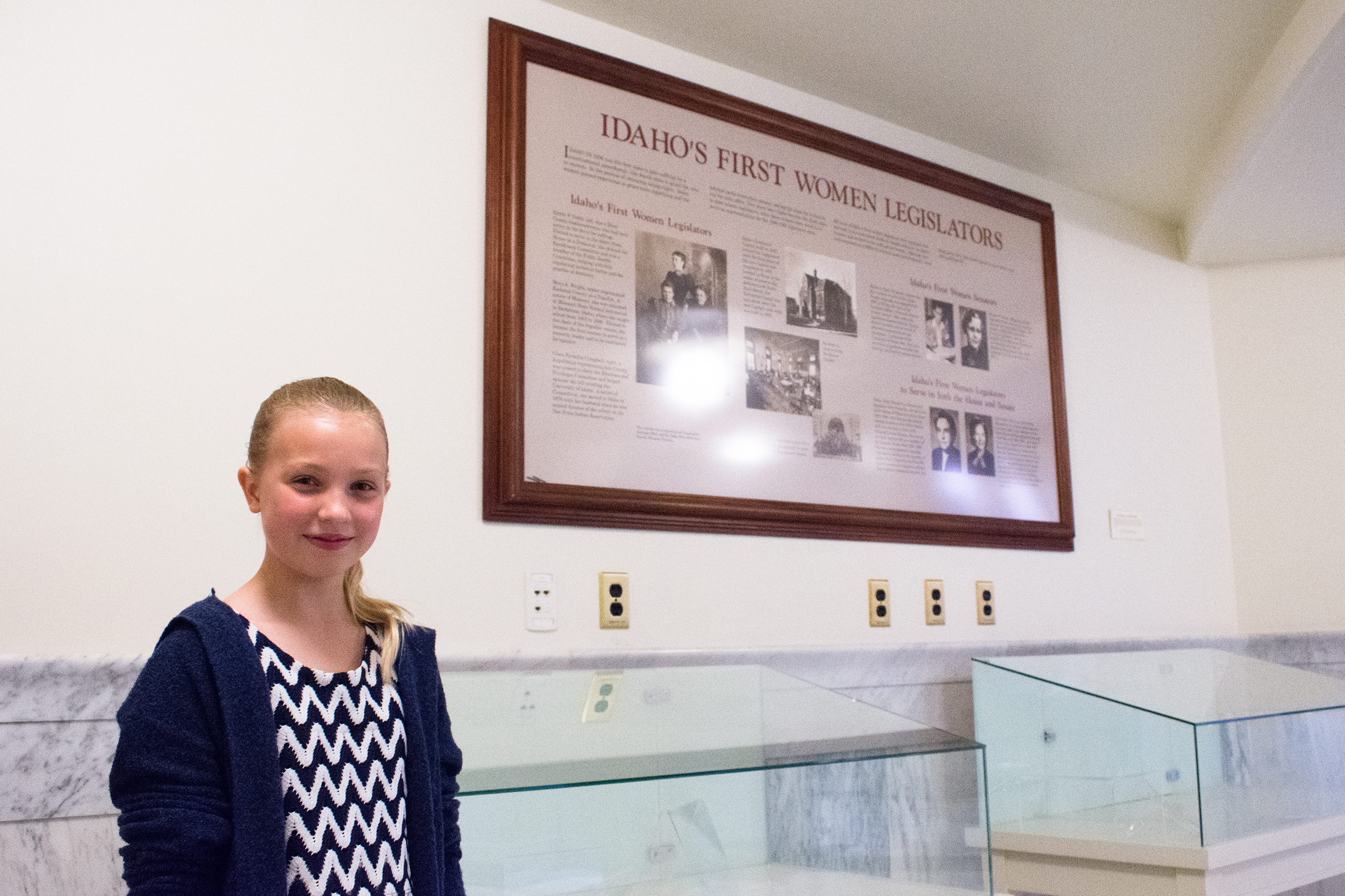Idaho's 1st Female Lawmakers Properly Honored Thanks To 11-Year-Old Student