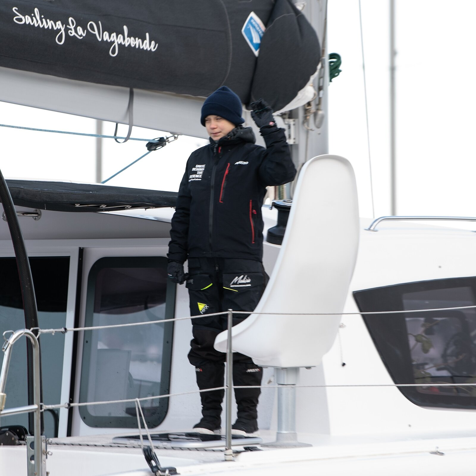 Greta Thunberg Sets Sail For Home — And The U.N. Climate Conference