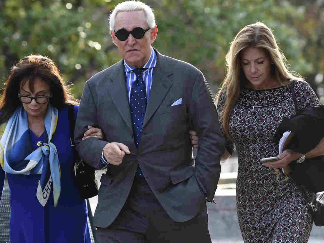 Following Roger Stone's conviction, Trump says all the wrong things