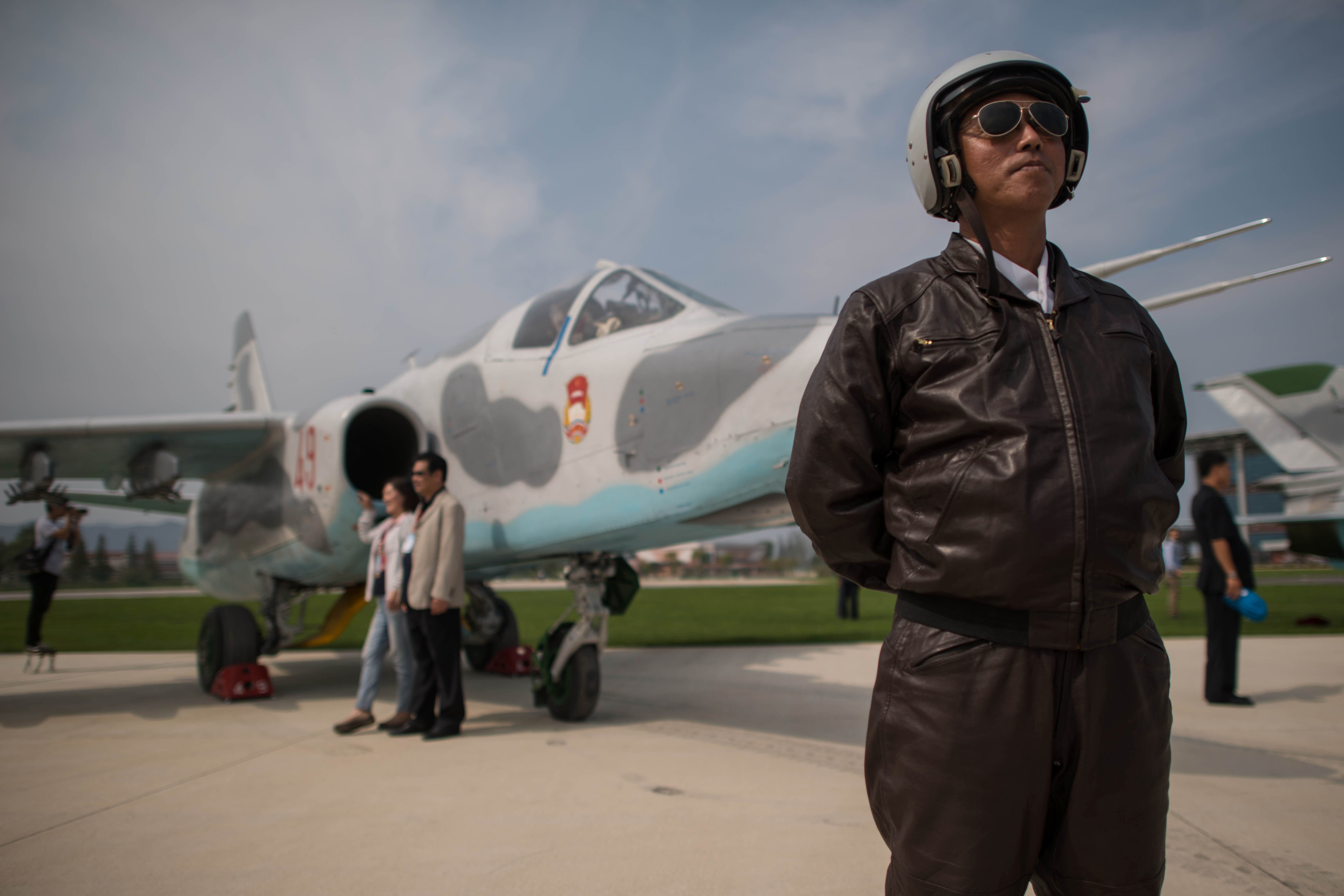 North Korea Seen Lining Up Military Aircraft For Possible Show