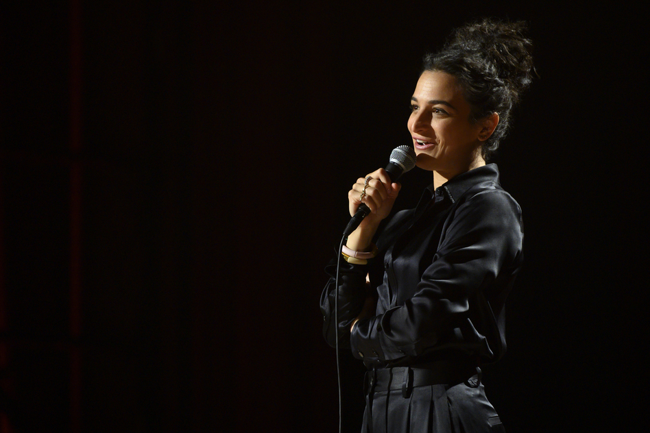 Jenny Slate's new Netflix comedy special is <em>Stage Fright</em>. (JoJo Whilden/Netflix)
