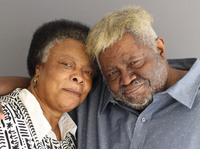 Patsy and Winfred Rembert in Hamden, Conn., at their StoryCorps interview in 2017.